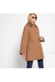 Palton ANNE WEYBURN GFR719 bej - els