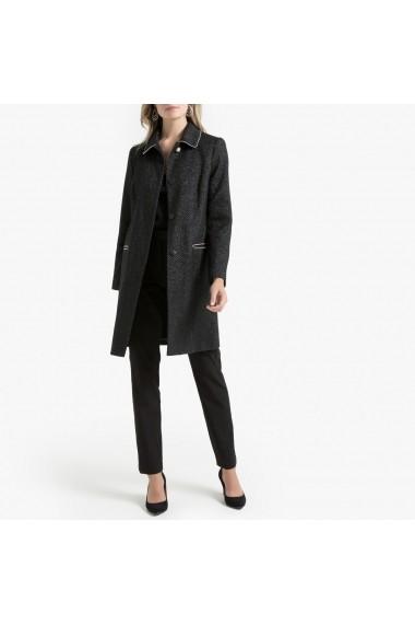 Palton ANNE WEYBURN GGO418 negru
