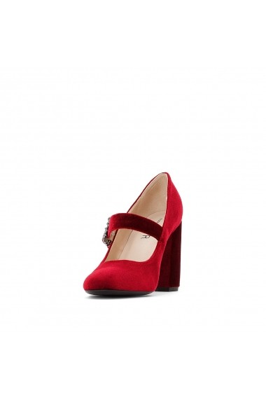 Pantofi cu toc MADEMOISELLE R GER234 bordo
