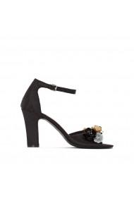 Sandale cu toc MADEMOISELLE R GEZ120 negru