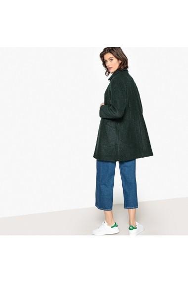 Palton MADEMOISELLE R GFO484 verde