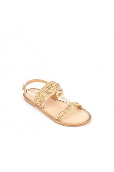 Sandale LES TROPEZIENNES par M BELARBI GHB267 auriu