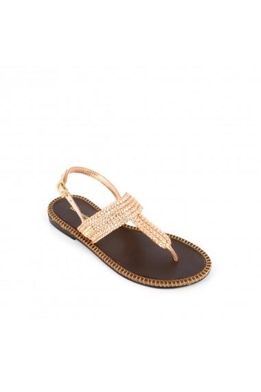 Sandale LES TROPEZIENNES par M BELARBI GHB300 auriu