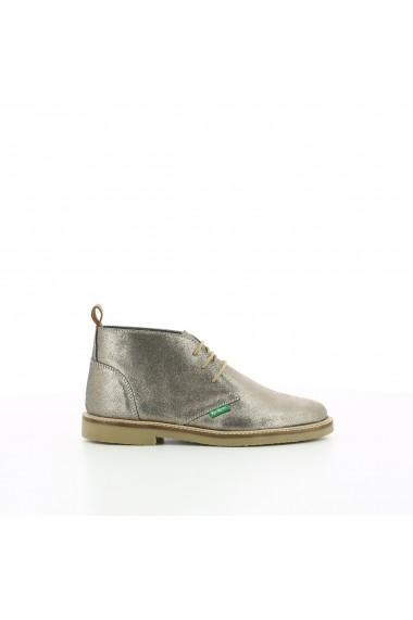 Pantofi KICKERS GGU555 auriu