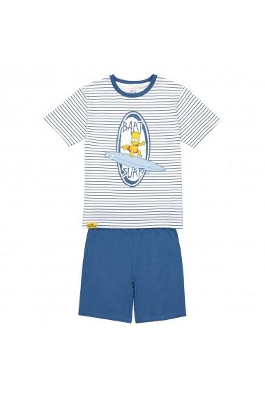 Pijama scurta SIMPSONS GGC653 albastru