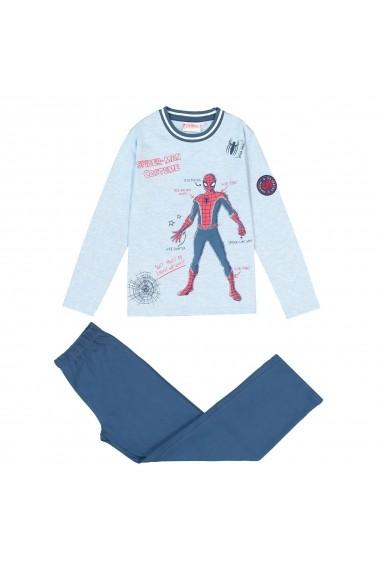 Pijama SPIDER-MAN GFD490 albastru