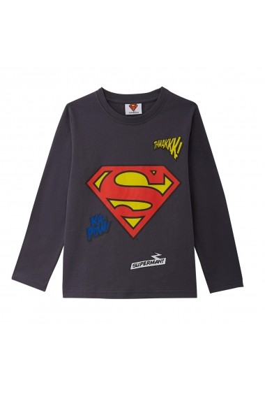 Bluza SUPERMAN GGQ583 gri