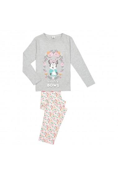 Pijama MINNIE MOUSE GGB226 gri