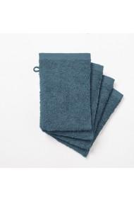 Set 4 manusi de baie SCENARIO GCD717 15x21 cm albastru
