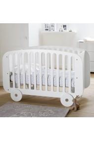 Pat pentru copii La Redoute Interieurs BYQ807 60x120 cm alb