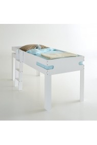 Pat suspendat pentru copii La Redoute Interieurs DAR068 90x190 cm alb