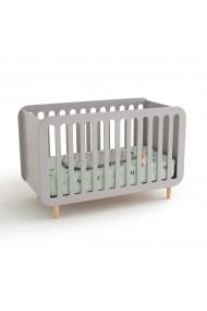 Pat pentru copii La Redoute Interieurs GBS199 60x120 cm gri