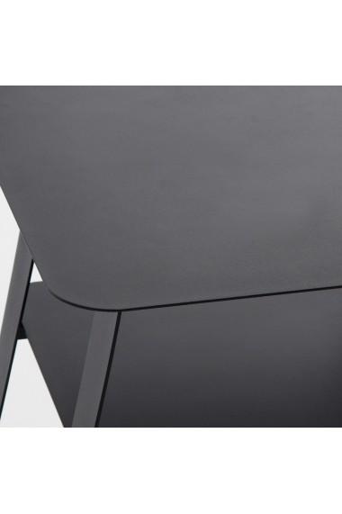 Noptiera La Redoute Interieurs GCI123 negru