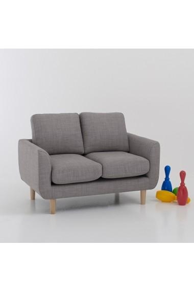 Canapea pentru copii La Redoute Interieurs GCJ839 2P gri