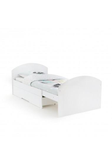 Pat ajustabil de copil La Redoute Interieurs GEH604 90x200 cm alb