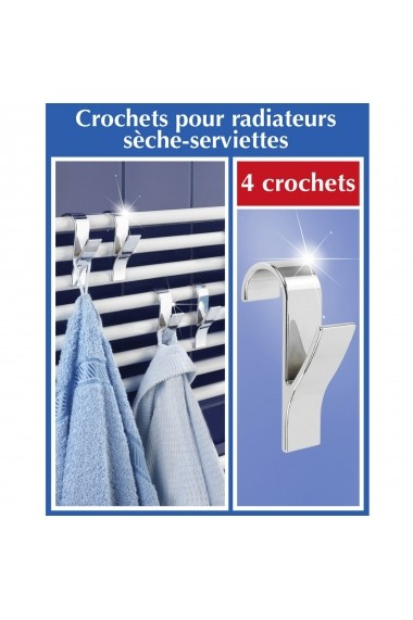 Suport prosop La Redoute Interieurs DLX616 argintiu