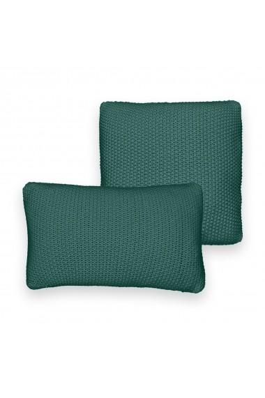 Fata de perna La Redoute Interieurs GDQ732 45x45 cm verde