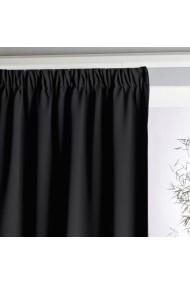 Draperie La Redoute Interieurs AKG708 350x140 cm negru