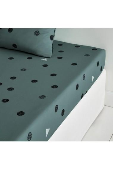 Cearsaf La Redoute Interieurs GBX246 90x190 cm gri