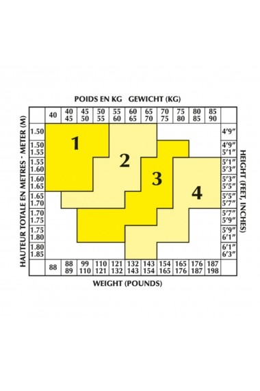 Set de 8 colanti DIM GGN039 negru
