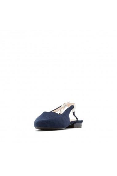 Sandale plate CASTALUNA GFZ288 bleumarin - els