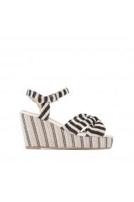 Sandale cu platforma CASTALUNA GFY942 dungi