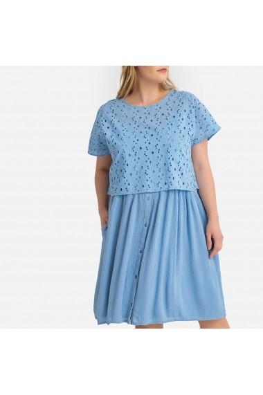 Rochie de zi CASTALUNA GFU070 albastru