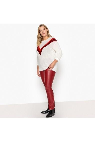 Pantaloni CASTALUNA GAX569 rosu