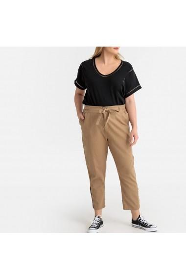 Pantaloni trei sferturi CASTALUNA GFT203 bej