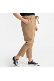 Pantaloni trei sferturi CASTALUNA GFT203 bej - els