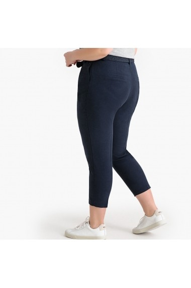 Pantaloni trei sferturi CASTALUNA GFW123 bleumarin - els