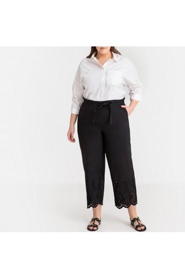 Pantaloni trei sferturi CASTALUNA GFW372 negru