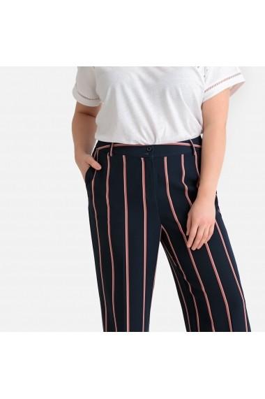 Pantaloni trei sferturi CASTALUNA GFW376 roz