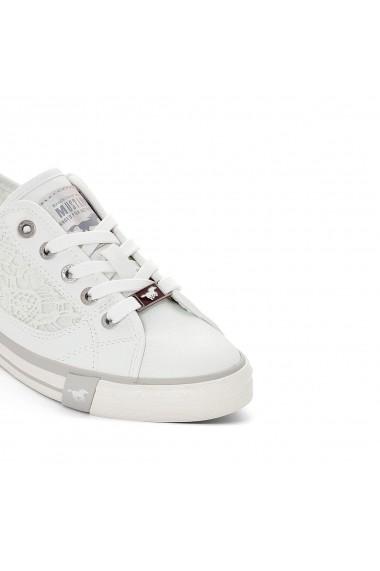 Pantofi sport MUSTANG SHOES GEW788 alb