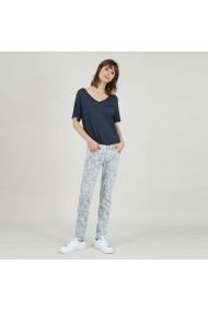 Pantaloni slim fit MOLLY BRACKEN GHN886 print