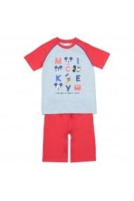 Pijama MICKEY MOUSE GGB254 rosu