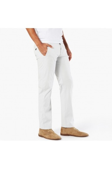 Pantaloni stil chinos DOCKERS GEI163 alb.