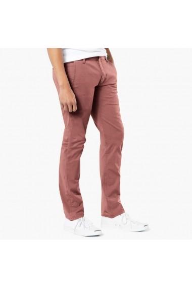 Pantaloni DOCKERS GEI245 rosu