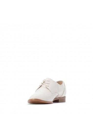 Pantofi derby La Redoute Collections GFM686 alb