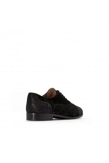 Pantofi derby La Redoute Collections GFZ224 negru