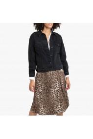 Jacheta din denim La Redoute Collections GGP860 negru