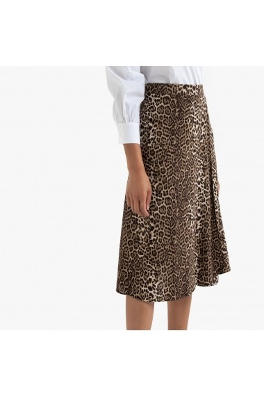 Fusta evazata La Redoute Collections GGP813 animal print