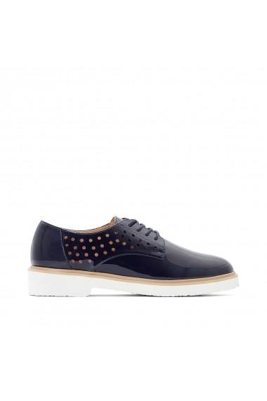 Pantofi La Redoute Collections GFZ179 bleumarin - els