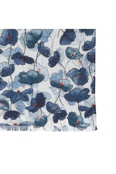 Esarfa La Redoute Collections GFZ824 albastru