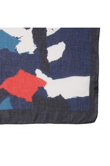 Esarfa La Redoute Collections GFZ876 albastru