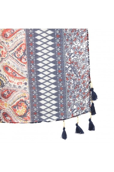 Esarfa La Redoute Collections GFZ884 albastru