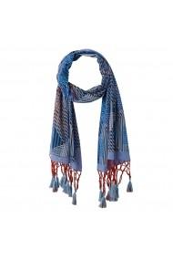 Esarfa La Redoute Collections GGA052 albastru