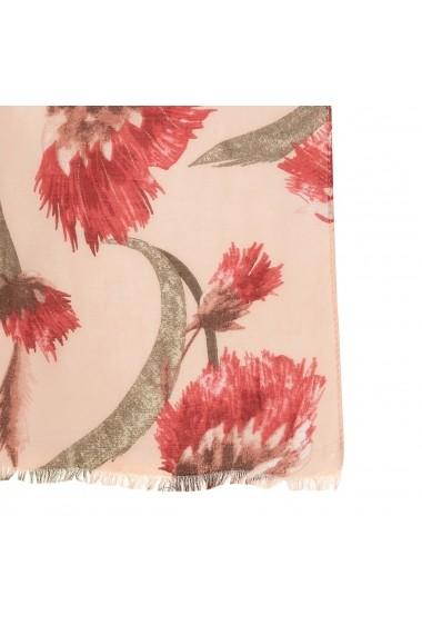 Esarfa La Redoute Collections GGA334 roz