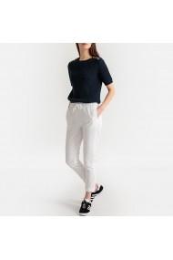 Pantaloni sport La Redoute Collections GFR805 alb