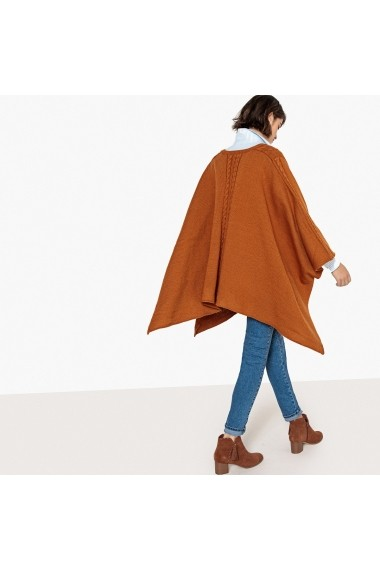 Poncho La Redoute Collections GFY328 bej